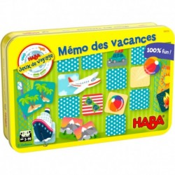 HABA - Mémo des vacances