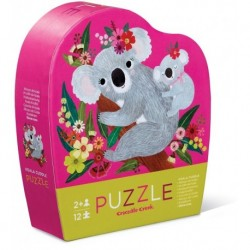 Crocodile Creek - 12 pcs : Mini puzzle Calin Koala