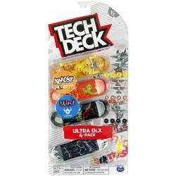 Tech Deck - Fingerskate : Ultra DLX 4-pack