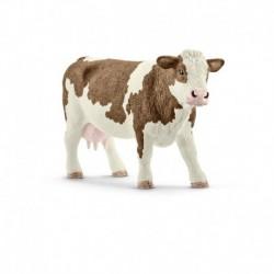 Schleich - Farm World : Vache Simmental française