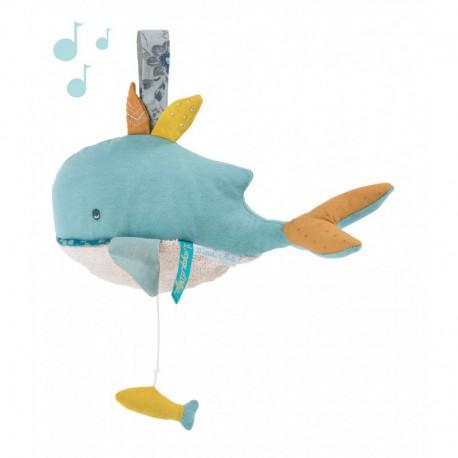 Le Voyage d'Olga : poupée musique baleine
