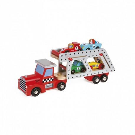 Camion transporteur de 4 voitures