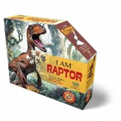 I am Puzzle Jr - Raptor 100 pcs