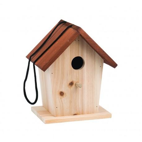 Le Jardin du Moulin : cabane à oiseaux