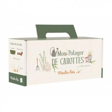 Le Jardin du Moulin : kit jardinière carottes