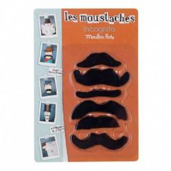 Les petites merveilles : set moustaches