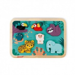 Janod - Chunky Puzzle Jungle
