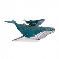 Janod - Puzzle Baleine 3D