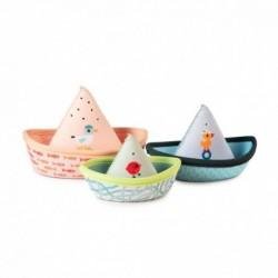 Lilliputiens - 3 bateaux de bain : Jungle