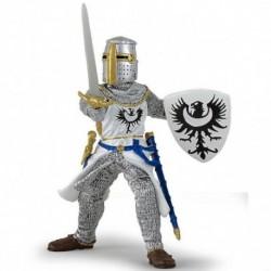 Papo - Médiéval : Chevalier blanc à l'épée