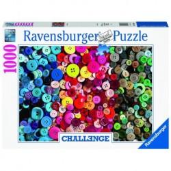 Ravensburger - Puzzle : Boutons - 1000 pcs