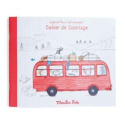 Aujourd'hui c'est mercredi : cahier de coloriage (36 pages)