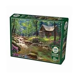Cobble Hill Puzzles - Cabine de pêche : 1000 pcs