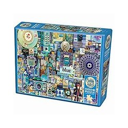 Cobble Hill Puzzles - Bleu : 1000 pcs