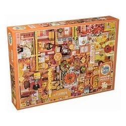 Cobble Hill Puzzles - Orange : 1000 pcs