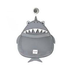 3SPROUTS - Rangement filet pour le bain - Requin