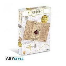 ABYSSE - PZL 1.000 PCS - HARRY POTTER : THE MARAUDER'S MAP