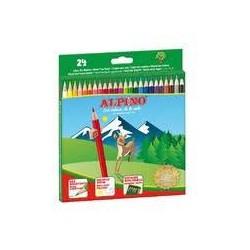 ALPINO - Etui 24 crayons de couleur