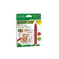 ALPINO - Etui 6 crayons de cire