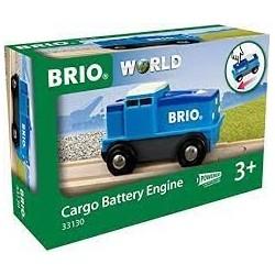 BRIO - Locomotive De Fret Bleue