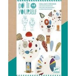 DJECO - DIY - Mosaïques & Stickers - Animo Ballon