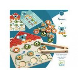 DJECO - Jeux éducatifs bois - Pinstou