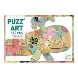 DJECO - Puzz'Art - Whale - 150 pcs