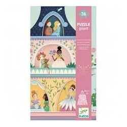 DJECO - Puzzles géants - La tour des princesses