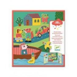 DJECO - Stickers des petits - Les animaux