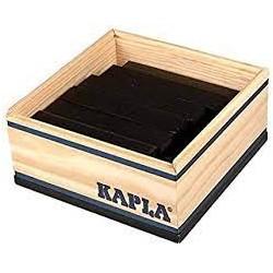 Kapla - 40 PLANCHETTES - NOIR