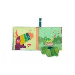 MOULIN ROTY - Livre tissu d'activités Dans la jungle