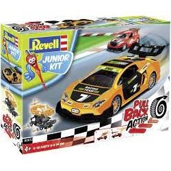REVELL - Pull Back Racing Car. Orange