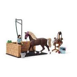 SCHLEICH - Horse Club - BOX DE LAVAGE EMILY
