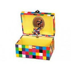TROUSSELIER - Coffret Musical Elmer - Figurine Elmer