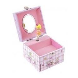 TROUSSELIER - Coffret Musique Cube Princesse - Mauve - Figuri
