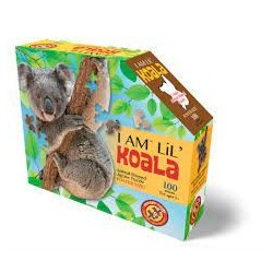 I AM Lil' Puzzle Jr.: KOALA