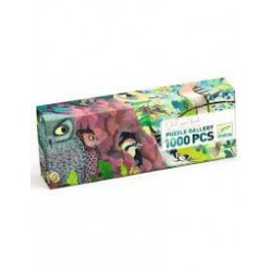 DJECO - Puzzles Gallery - Owls and birds - 1000 pcs