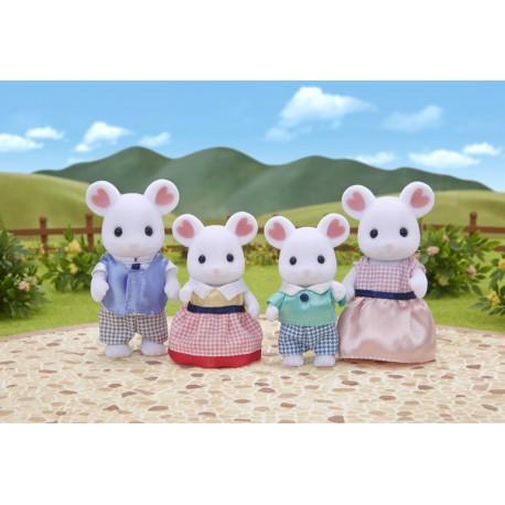 Famille souris marshmallow