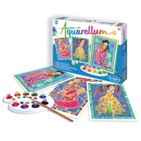 Aquarellum : glamour girls