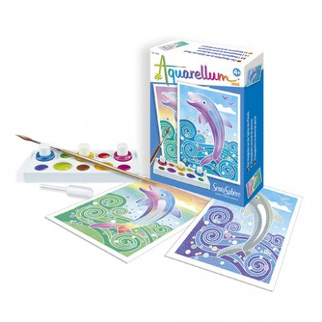 Aquarellum Mini : dauphins