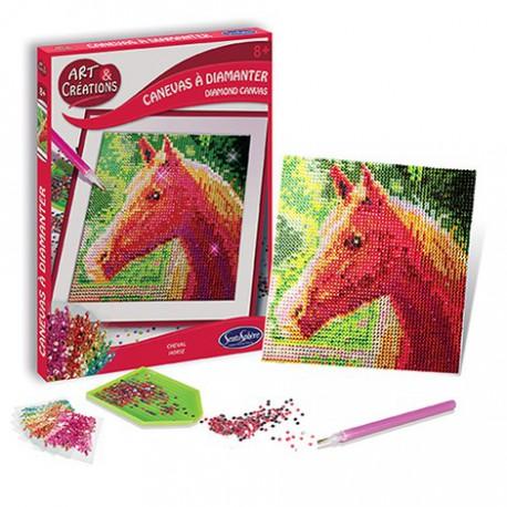 Canevas à diamanter : cheval