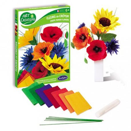 Fleurs à créer : bouquet champêtre
