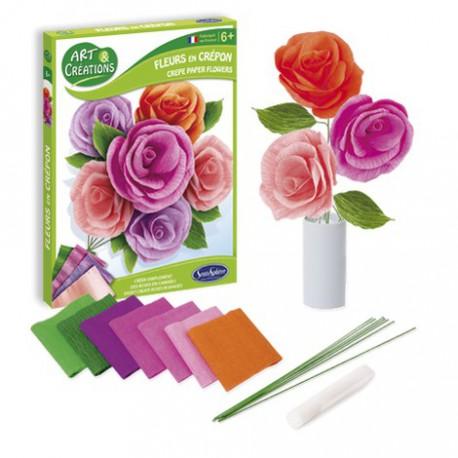 Fleurs à créer : roses