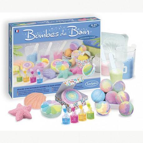 Laboratoire créatif : bombes de bain