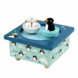 Boîte à musique : Dancing pingouins
