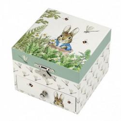 Boîte à musique cube : Peter rabbit