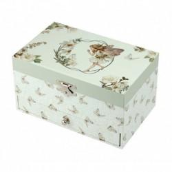 Boîte à bijoux musicale : flower fairies
