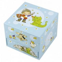 Coffret musique cube : prince et dragon