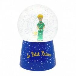 Veilleuse boule à neige musicale : le petit prince