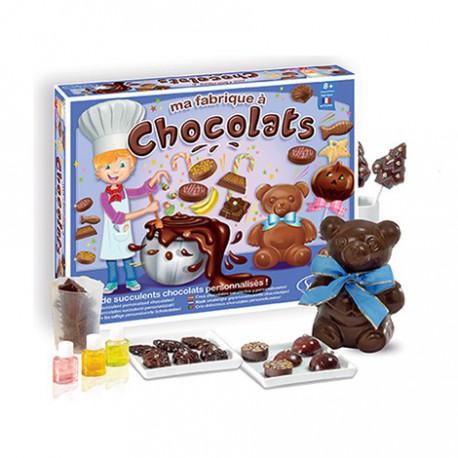 Kit créatif : ma fabrique à chocolats